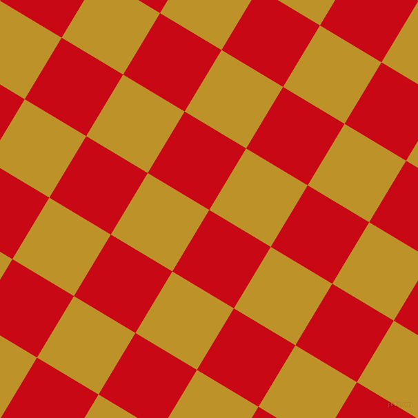 59/149 degree angle diagonal checkered chequered squares checker pattern checkers background, 104 pixel squares size, Venetian Red and Nugget checkers chequered checkered squares seamless tileable