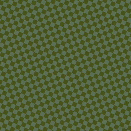 67/157 degree angle diagonal checkered chequered squares checker pattern checkers background, 15 pixel squares size, , Verdun Green and Cactus checkers chequered checkered squares seamless tileable