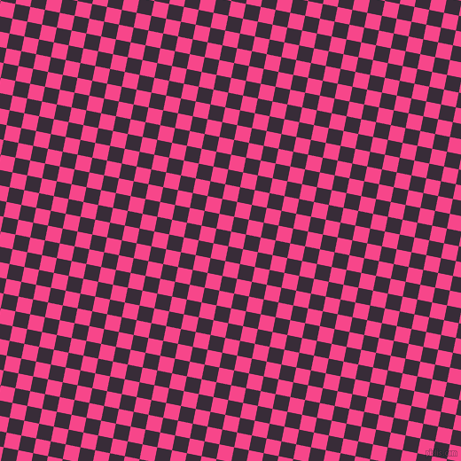 79/169 degree angle diagonal checkered chequered squares checker pattern checkers background, 17 pixel squares size, , Violet Red and Valentino checkers chequered checkered squares seamless tileable