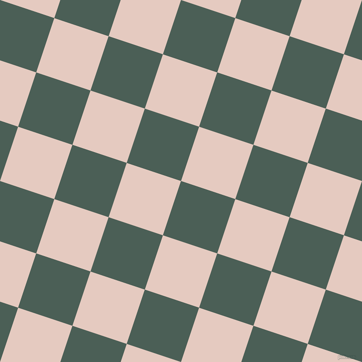 72/162 degree angle diagonal checkered chequered squares checker pattern checkers background, 114 pixel square size, , Viridian Green and Dust Storm checkers chequered checkered squares seamless tileable