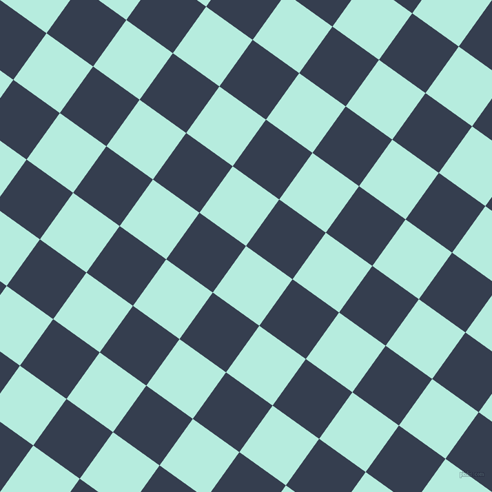 54/144 degree angle diagonal checkered chequered squares checker pattern checkers background, 83 pixel squares size, , Water Leaf and Cloud Burst checkers chequered checkered squares seamless tileable