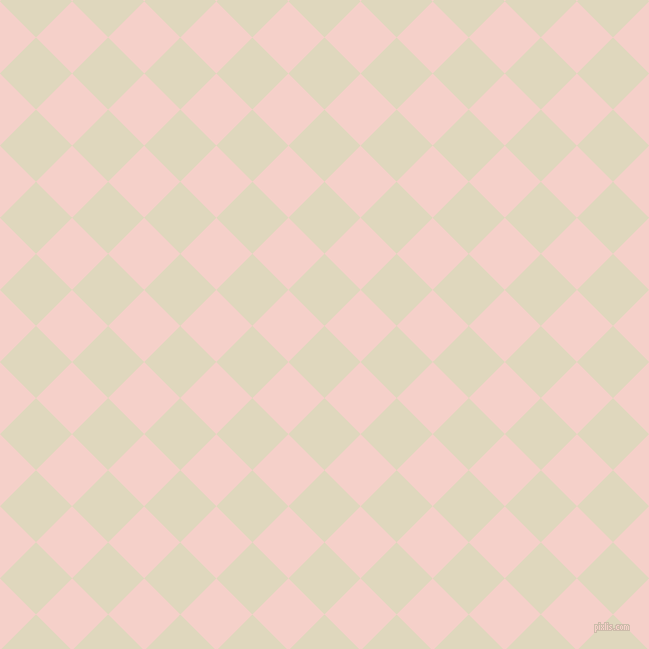 45/135 degree angle diagonal checkered chequered squares checker pattern checkers background, 51 pixel squares size, , Wheatfield and Coral Candy checkers chequered checkered squares seamless tileable