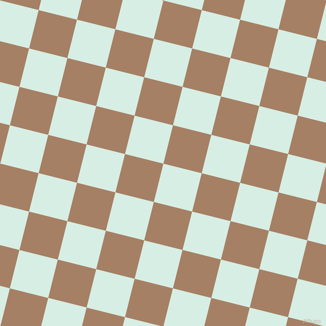 76/166 degree angle diagonal checkered chequered squares checker pattern checkers background, 79 pixel squares size, , White Ice and Medium Wood checkers chequered checkered squares seamless tileable