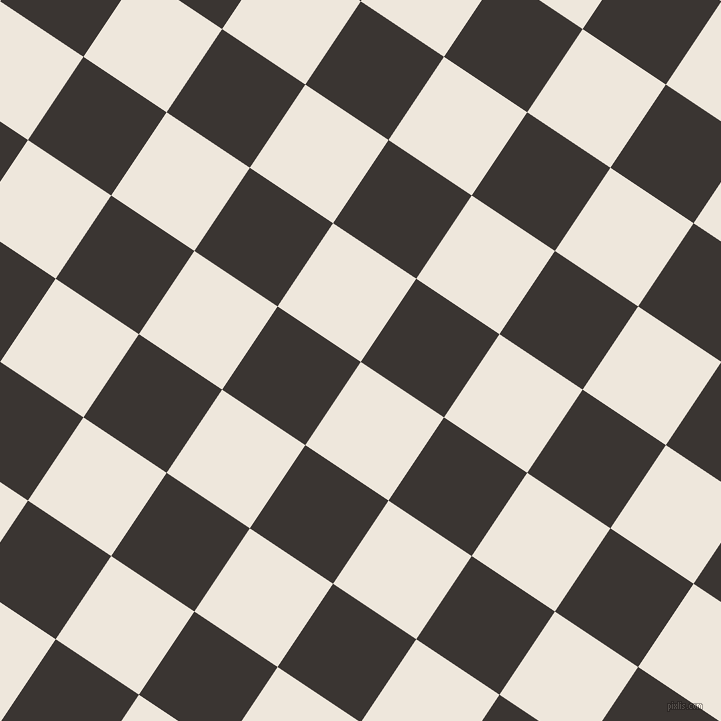 56/146 degree angle diagonal checkered chequered squares checker pattern checkers background, 100 pixel squares size, , White Linen and Kilamanjaro checkers chequered checkered squares seamless tileable