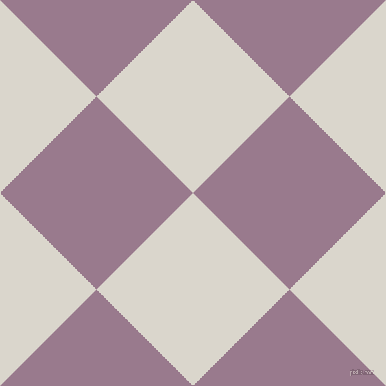 45/135 degree angle diagonal checkered chequered squares checker pattern checkers background, 199 pixel squares size, , White Pointer and Mountbatten Pink checkers chequered checkered squares seamless tileable