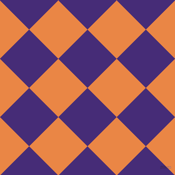 45/135 degree angle diagonal checkered chequered squares checker pattern checkers background, 137 pixel squares size, , Windsor and Flamenco checkers chequered checkered squares seamless tileable