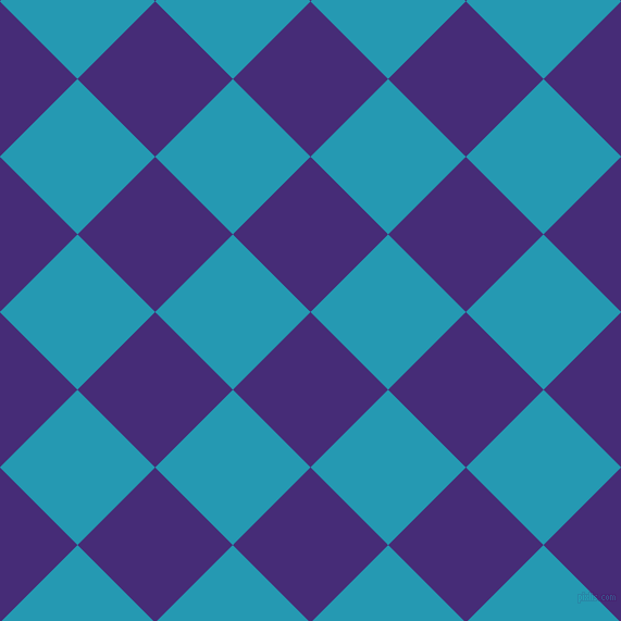 45/135 degree angle diagonal checkered chequered squares checker pattern checkers background, 101 pixel square size, , Windsor and Pelorous checkers chequered checkered squares seamless tileable