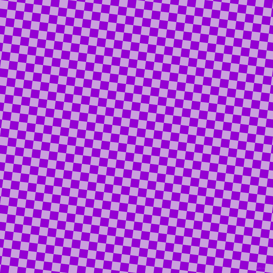 83/173 degree angle diagonal checkered chequered squares checker pattern checkers background, 28 pixel squares size, , Wisteria and Dark Violet checkers chequered checkered squares seamless tileable