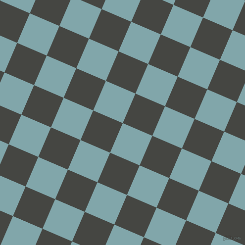 67/157 degree angle diagonal checkered chequered squares checker pattern checkers background, 65 pixel square size, , Ziggurat and Tuatara checkers chequered checkered squares seamless tileable