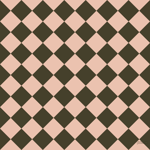 45/135 degree angle diagonal checkered chequered squares checker pattern checkers background, 51 pixel squares size, , Zinnwaldite and Woodrush checkers chequered checkered squares seamless tileable