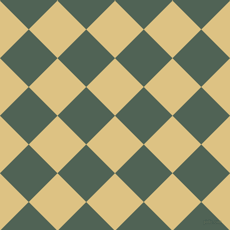 45/135 degree angle diagonal checkered chequered squares checker pattern checkers background, 81 pixel square size, Zombie and Mineral Green checkers chequered checkered squares seamless tileable