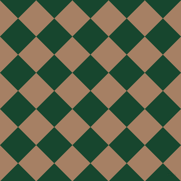 45/135 degree angle diagonal checkered chequered squares checker pattern checkers background, 102 pixel square size, , Zuccini and Medium Wood checkers chequered checkered squares seamless tileable