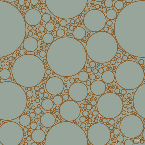 bubbles, circles, sponge, big, medium, small, 3 pixel line width, Afghan Tan and Edward circles bubbles sponge soap seamless tileable
