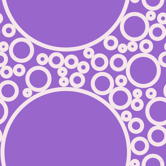 bubbles, circles, sponge, big, medium, small, 17 pixel line width, Amour and Amethyst circles bubbles sponge soap seamless tileable