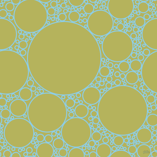 bubbles, circles, sponge, big, medium, small, 3 pixel line width, Anakiwa and Olive Green circles bubbles sponge soap seamless tileable
