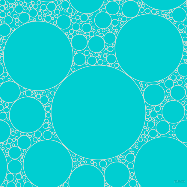 bubbles, circles, sponge, big, medium, small, 2 pixel line width, Aqua Haze and Dark Turquoise circles bubbles sponge soap seamless tileable