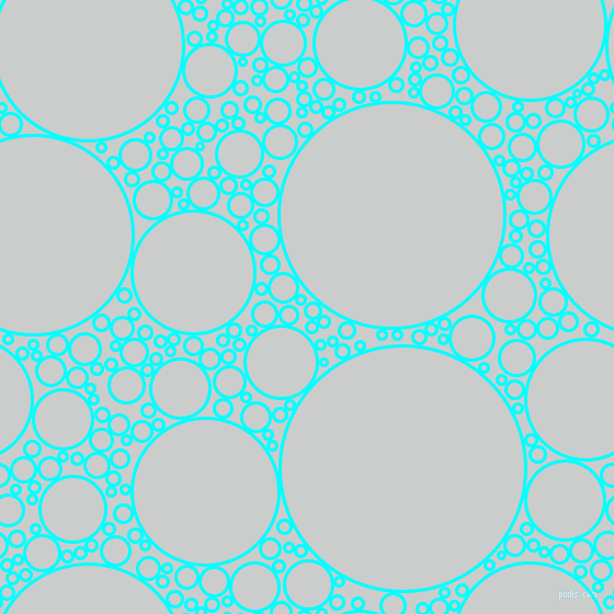 bubbles, circles, sponge, big, medium, small, 3 pixel line width, Aqua and Iron circles bubbles sponge soap seamless tileable
