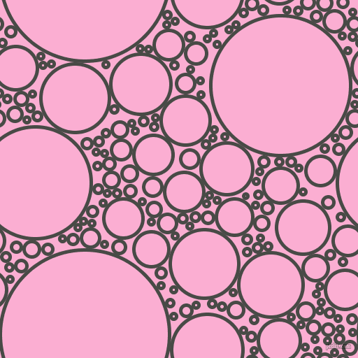 bubbles, circles, sponge, big, medium, small, 5 pixel line width, Armadillo and Lavender Pink circles bubbles sponge soap seamless tileable