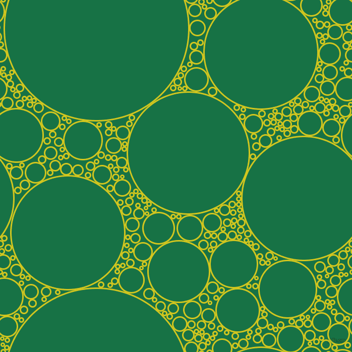 bubbles, circles, sponge, big, medium, small, 3 pixel line width, Barberry and Dark Spring Green circles bubbles sponge soap seamless tileable