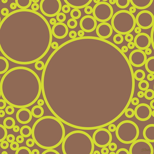bubbles, circles, sponge, big, medium, small, 9 pixel line width, Bitter Lemon and Leather circles bubbles sponge soap seamless tileable