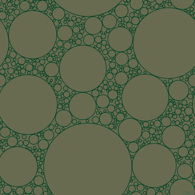 bubbles, circles, sponge, big, medium, small, 2 pixel line width, British Racing Green and Siam circles bubbles sponge soap seamless tileable
