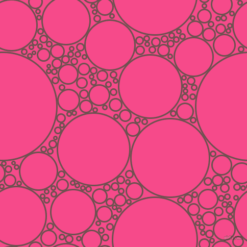 bubbles, circles, sponge, big, medium, small, 3 pixel line width, Buccaneer and French Rose circles bubbles sponge soap seamless tileable