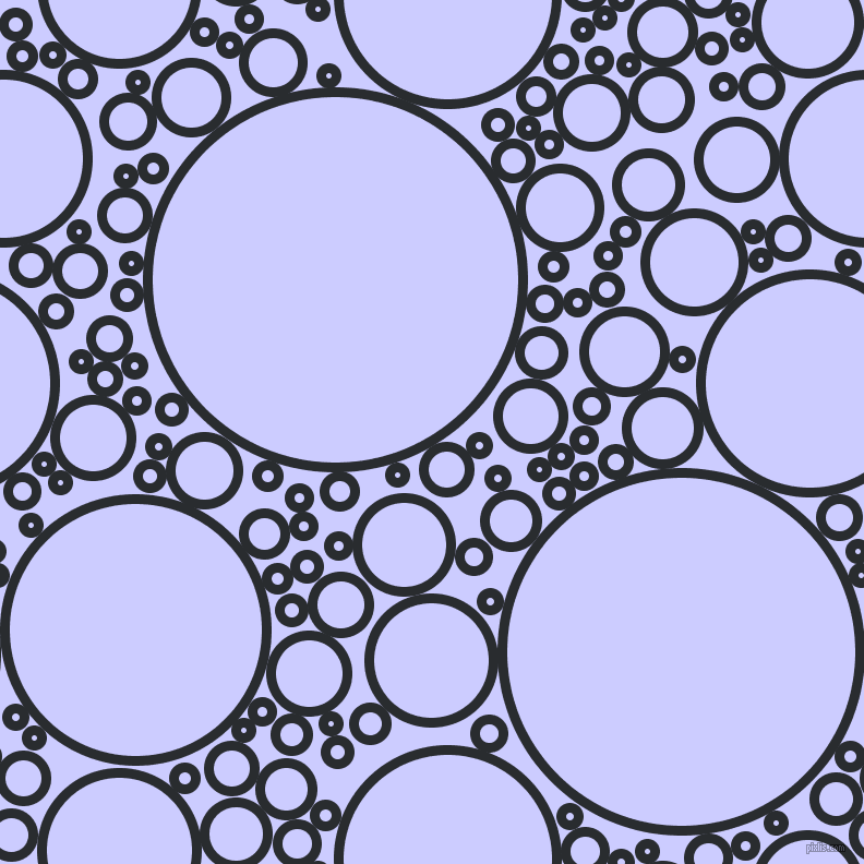 bubbles, circles, sponge, big, medium, small, 9 pixel line width, Bunker and Lavender Blue circles bubbles sponge soap seamless tileable