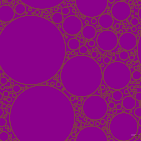 bubbles, circles, sponge, big, medium, small, 5 pixel line width, Camelot and Dark Magenta circles bubbles sponge soap seamless tileable