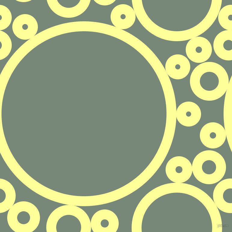 bubbles, circles, sponge, big, medium, small, 33 pixel line width, Canary and Davy
