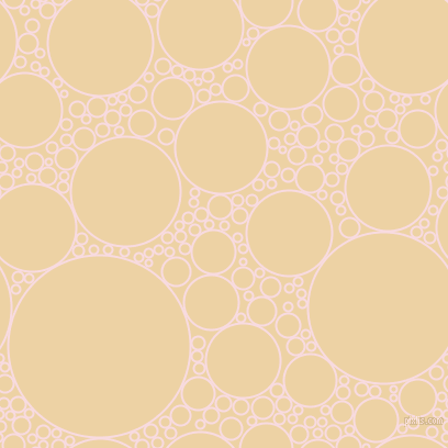 bubbles, circles, sponge, big, medium, small, 2 pixel line width, Carousel Pink and Dairy Cream circles bubbles sponge soap seamless tileable
