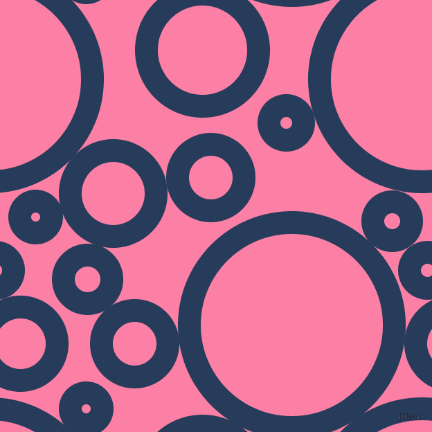 bubbles, circles, sponge, big, medium, small, 33 pixel line width, Catalina Blue and Tickle Me Pink circles bubbles sponge soap seamless tileable