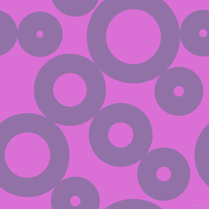 bubbles, circles, sponge, big, medium, small, 65 pixel line width, Ce Soir and Orchid circles bubbles sponge soap seamless tileable