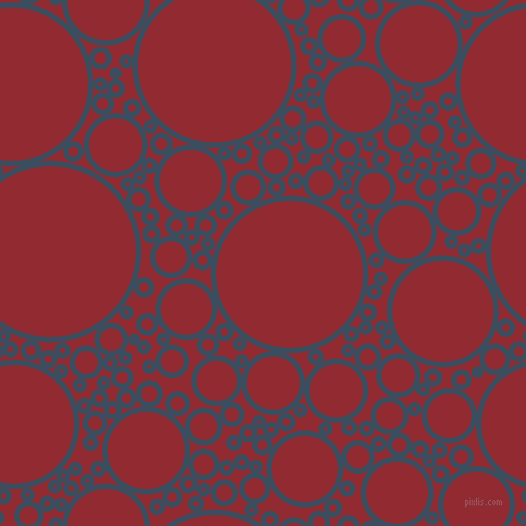 bubbles, circles, sponge, big, medium, small, 5 pixel line width, Cello and Bright Red circles bubbles sponge soap seamless tileable