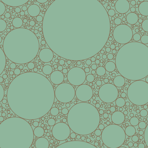 bubbles, circles, sponge, big, medium, small, 2 pixel line width, Cement and Summer Green circles bubbles sponge soap seamless tileable