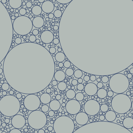 bubbles, circles, sponge, big, medium, small, 2 pixel line width, Chambray and Loblolly circles bubbles sponge soap seamless tileable