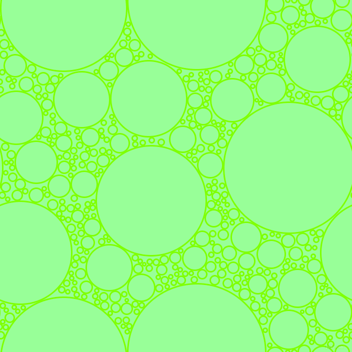 bubbles, circles, sponge, big, medium, small, 3 pixel line width, Chartreuse and Mint Green circles bubbles sponge soap seamless tileable