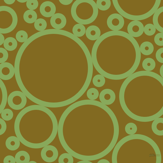 bubbles, circles, sponge, big, medium, small, 17 pixel line width, Chelsea Cucumber and Yukon Gold circles bubbles sponge soap seamless tileable