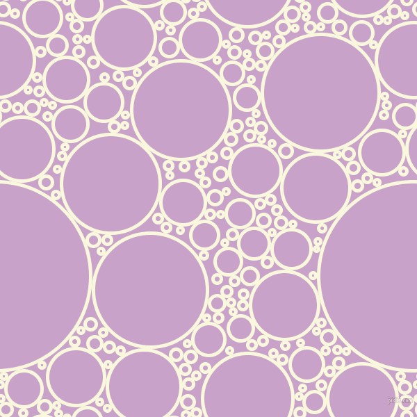 bubbles, circles, sponge, big, medium, small, 5 pixel line width, Chilean Heath and Lilac circles bubbles sponge soap seamless tileable