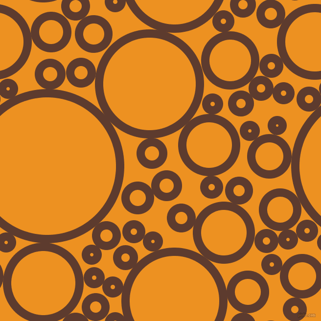 bubbles, circles, sponge, big, medium, small, 17 pixel line widthCioccolato and Carrot Orange circles bubbles sponge soap seamless tileable