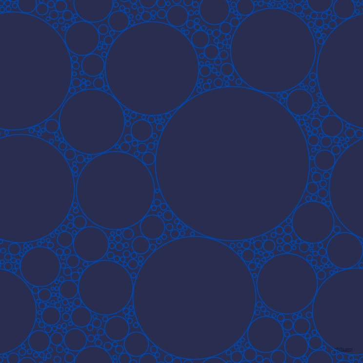 bubbles, circles, sponge, big, medium, small, 2 pixel line width, Cobalt and Lucky Point circles bubbles sponge soap seamless tileable