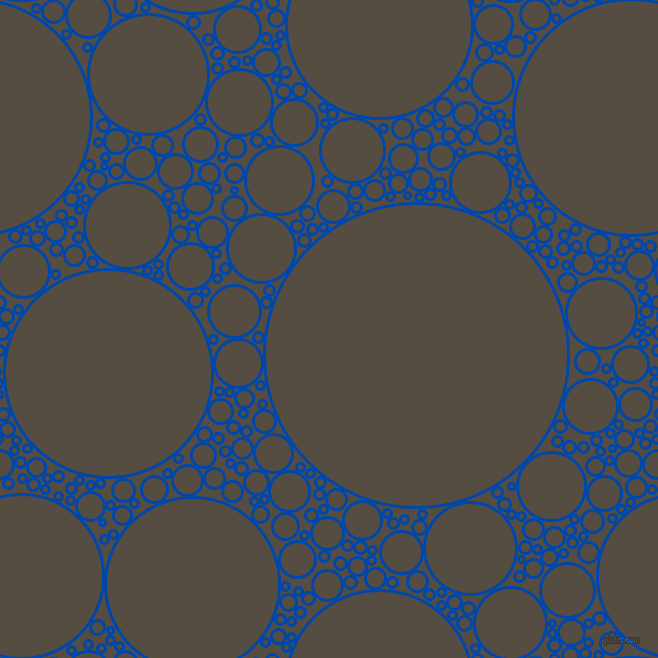 bubbles, circles, sponge, big, medium, small, 3 pixel line width, Cobalt and Mondo circles bubbles sponge soap seamless tileable