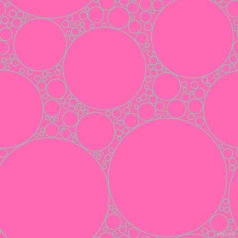Hot Pink Bubbles Wallpaper Hot Pink Circles Bubbles