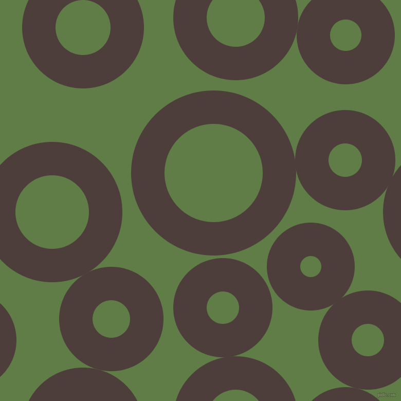 bubbles, circles, sponge, big, medium, small, 65 pixel line width, Crater Brown and Dingley circles bubbles sponge soap seamless tileable