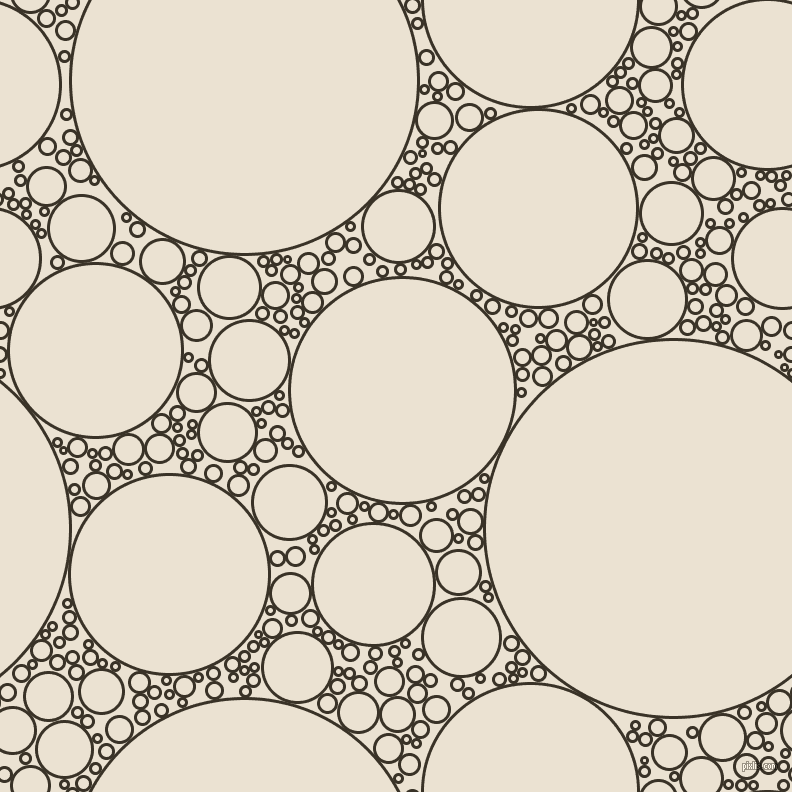bubbles, circles, sponge, big, medium, small, 3 pixel line width, Creole and Quarter Spanish White circles bubbles sponge soap seamless tileable