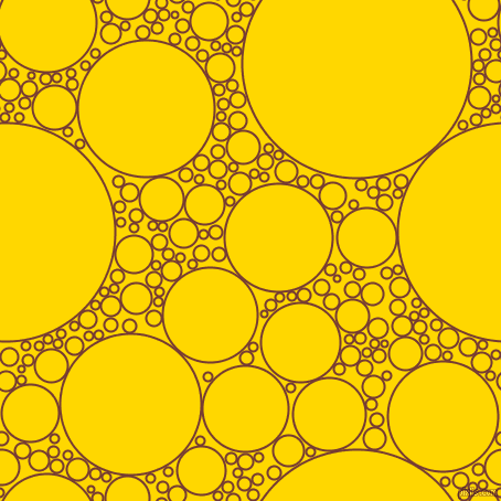 bubbles, circles, sponge, big, medium, small, 2 pixel line width, Crown Of Thorns and Gold circles bubbles sponge soap seamless tileable