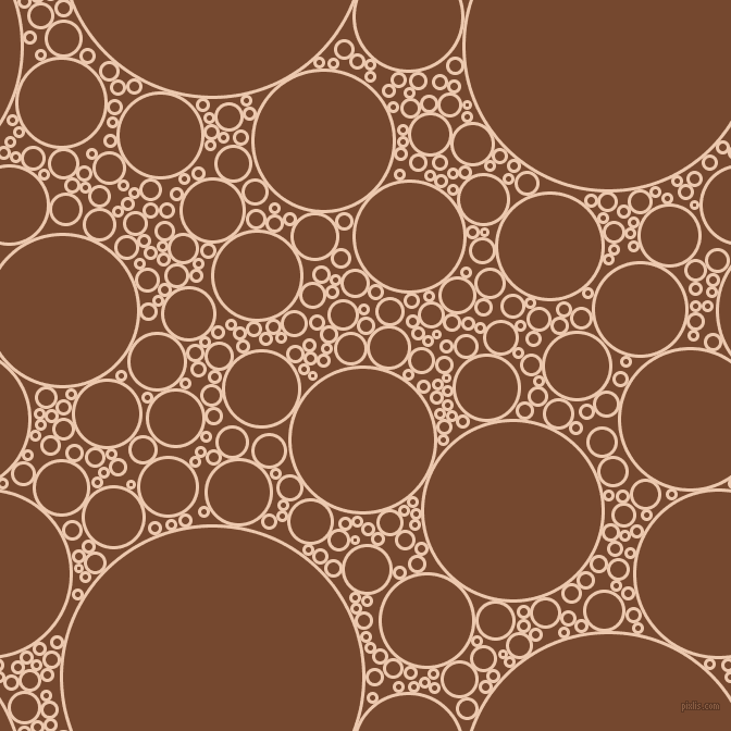 bubbles, circles, sponge, big, medium, small, 3 pixel line width, Desert Sand and Cape Palliser circles bubbles sponge soap seamless tileable
