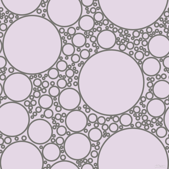bubbles, circles, sponge, big, medium, small, 5 pixel line width, Dove Grey and Snuff circles bubbles sponge soap seamless tileable
