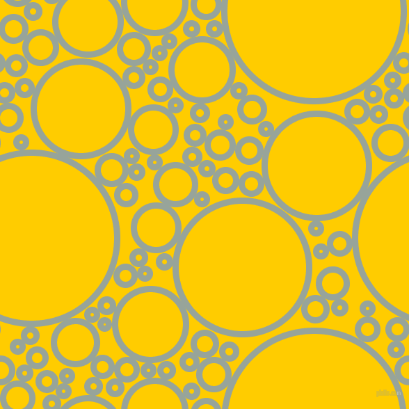 bubbles, circles, sponge, big, medium, small, 9 pixel line width, Edward and Tangerine Yellow circles bubbles sponge soap seamless tileable