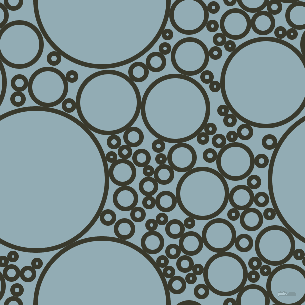 bubbles, circles, sponge, big, medium, small, 9 pixel line width, El Paso and Botticelli circles bubbles sponge soap seamless tileable