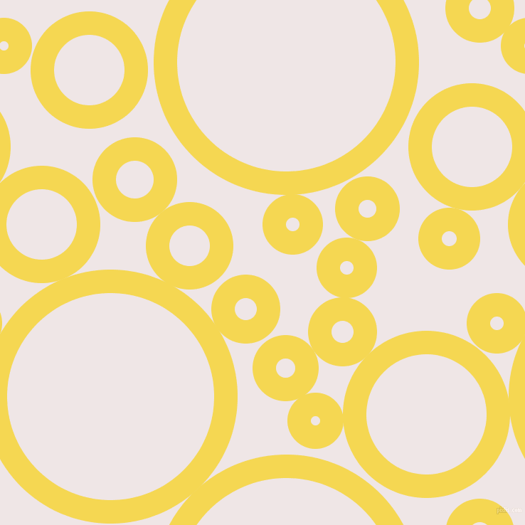 bubbles, circles, sponge, big, medium, small, 33 pixel line width, Energy Yellow and Whisper circles bubbles sponge soap seamless tileable